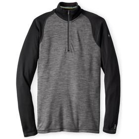 Smartwool Merino 250 Baselayer Pattern 1/4 Zip Shirt Men Black